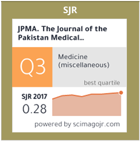 JPMA - Journal Of Pakistan Medical Association