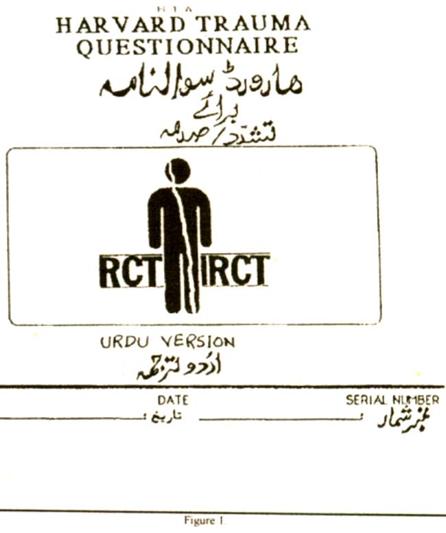 Warriors Meaning Into Urdu: Harvard Trauma Questionnaire Urdu Translation: The Only